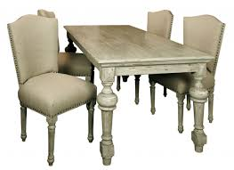distressed dining table extendable trestle table bobs furniture dining room