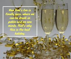 A glass of champagne in hand! Happy New Year Quotes Wishes Message Sms 2019