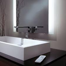 mirror with integrated lighting. Amazing Of Lighted Bathroom Mirror Mirrors Sura With Integrated Lighting