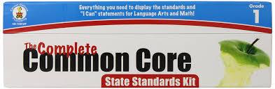 Common Core Math Standards Chart Amazon Com Carson Dellosa The Complete Common Core State
