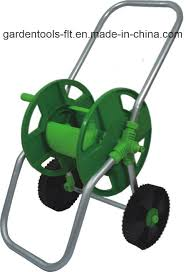 china hose reel cart and garden hose