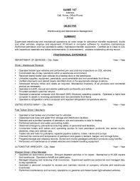Transfer Resume Sample Sample Of Warehouse Resume Resume Examples 17