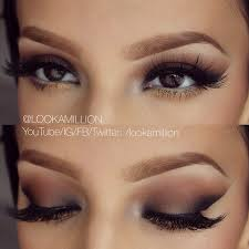 natural simplistic eye makeup great tip for this look is to use tape while