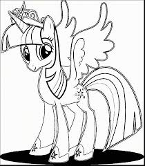 My Little Pony Princess Twilight Coloring Pages Archidev