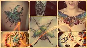 значение тату жук смысл история фото