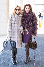 40 style inspiration and street fashion fur coats 40plusstyle com