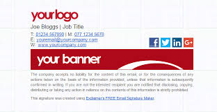 Company Email Signature 18 Creative Free Email Signature Templates Utemplates