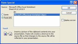How To Link Excel Data To Powerpoint Chart Automatic Updating Of Excel Tables In Powerpoint Slides