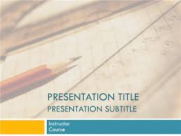 Ppt Templates Education Paper Presentation Templates Free Download Educational Themes For