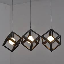 minimalist lighting. 3PCS Telmar Scandinavian Minimalist Clothing Store Cafe Chandeliers Three Creative Personality Restaurant Lighting Fixtures T027- Q