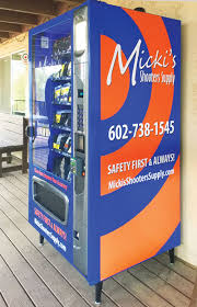 Vending Machine Supply Unique Micki's Shooters Begins Vending Program For Gun Range Supplies
