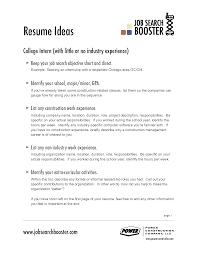 Job Resume Objective Berathen Com
