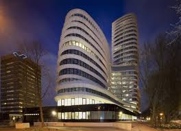 sustainable office building. UNStudio Completes EEA Office Clad In An Undulating Energy-Saving Facade Sustainable Building G