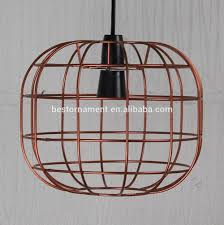 Wire Pendant Light Faraday Cage Lamp Industrial Metal Wire Pendant Light Bar