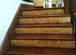 tile stair risers installation stairs design ideas wood stairs tile floor