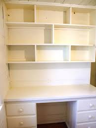 home office wall shelves. Clean Desk And Wall Shelving Home Office Shelves