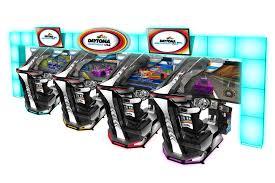 Daytona Championship Usa Motion Sdlx Sega Arcade