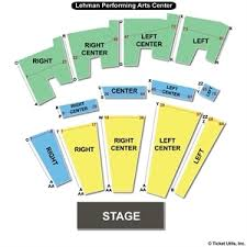 Lehman College Performing Arts Center Seating Chart Factual Lehman College Seating Chart 2019