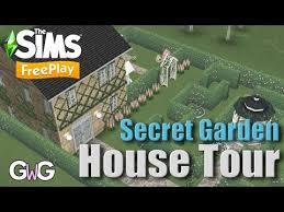 the sims freeplay romantic garden live
