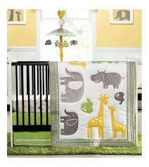zoo crib bedding set animal baby sets