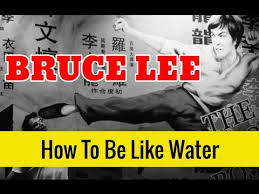 Bruce Lee Water Quote Fascinating BRUCE LEE Quote How To Be Like Water My Friend And Get In Shape