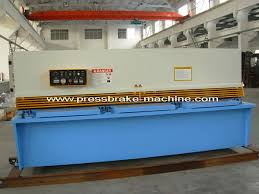 Manual Hydraulic Shearing Machine Metal Cutting Shear With