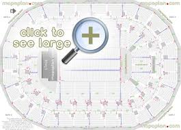 Seating Chart First Ontario Centre Mts Centre Seat Row Numbers Detailed Seating Chart