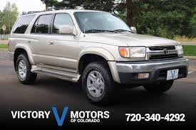 2002 Toyota 4Runner SR5 | Victory Motors of Colorado