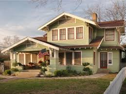 Craftsman home furniture Magnificent Home Light Green Craftsman Home Hgtvcom Arts And Crafts Architecture Hgtv