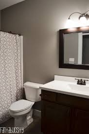 white bathroom cabinets gray walls. home tour part 6: guest bath. gray and white bathroom cabinets walls y