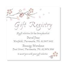 bridal shower invitation wording with no registry bridal shower gifts for bride with no registry the