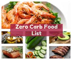 Image result for zero carb foods images