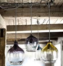 pendant light fixtures blown glass. Eclectic Hand Blown Glass Pendant Lights By The Forest \u0026 Co | Notonthehighstreet.com Light Fixtures T