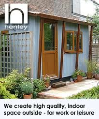 outside office shed. henley offices outside office shed t