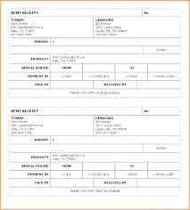 How To Fill Out A Receipt Book For Rent Rental Invoice Template Word
