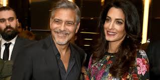 George Clooney We don t want to know twins sexes