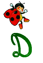 Animated Gifs Ladybirds Alphabet And Its Animated Text