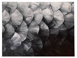 painting of fish scales