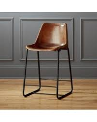 brown leather bar stools. Amazing Deal On Roadhouse 24 Leather Counter Stool By CB2 Regarding Stools Remodel 4 Brown Bar