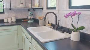 Farmhouse Chic Budget Kitchen Makeover Kitchen Remodeling Projects