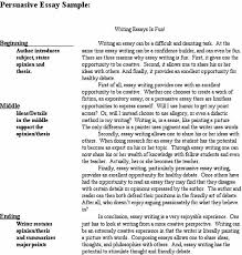 example of persuasive essay persuasive essay sample org view larger