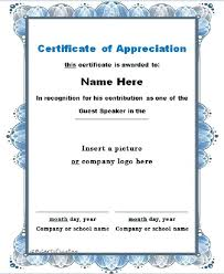 free recognition certificates free printable thank you certificates bridgeoflochay co