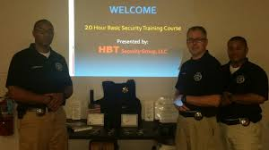 20 40 hour security training course