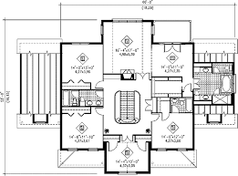Grand Staircase - 80426PM floor plan - 2nd Floor