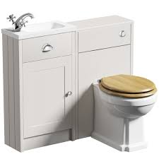 Sink And Toilet Combo Toilet And Sink Bathroom Combination Units Victoriaplumcom