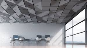 Ceiling Panel Design Crease Acoustic Ceiling Tile By Turf