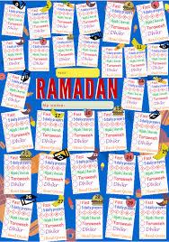 Ramadan Reward Chart For Kids 3 Islamic Worksheets For