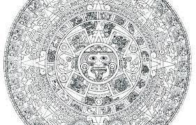 Aztec Coloring Pages Coloring Sheets Coloring Sheets Calendar