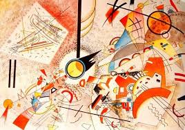 <b>Wassily Kandinsky</b>, <b>Bustling Aquarelle</b> (ca. 1923) // I could get lost in ...