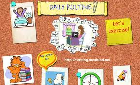 daily routine essay my daily routine essay